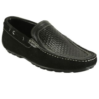 Bacca Bucci MenS  Black Casual Loafer Shoes (BBMC4041A)
