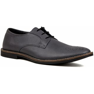 De Scalzo Mens  Grey Formal Shoes