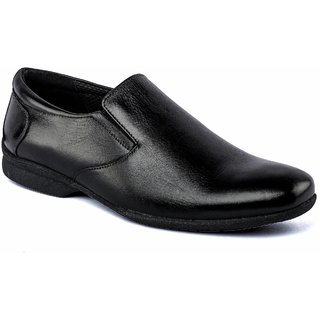 De Scalzo Mens  Black Formal Shoes - 88682611