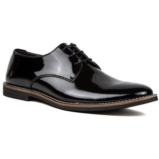 De Scalzo Mens  Black Formal Shoes - 88682552