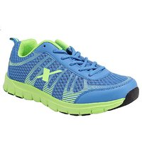 Sparx Styles Blue FL. Green Sports Shoes  218
