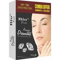 Bio Fresh Aroma Diamond Skin Brightening Kit 100gm(Diamond Ash  Natural Extract