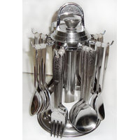 Pretty 24 Pcs. Cutlery Set With Stand