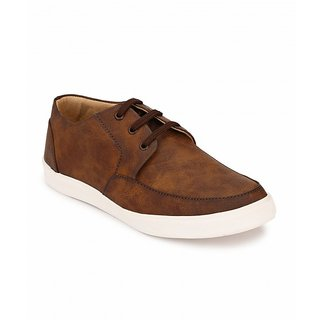Peddeler Mens Brown Casual Shoes