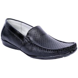 Sole Strings Mens Black Casual Shoes (ASHK-190320BM00)