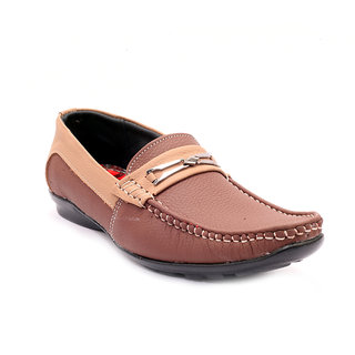 Sole Strings Mens Brown Casual Shoes (ASHK-19040BRM00)