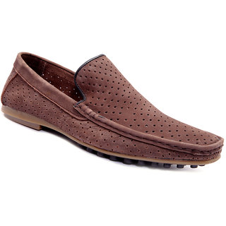 Sole Strings Mens Brown Casual Shoes (LUESL-9090BRM00)