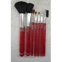 7PCS Makeup Blush Eyeshadow Lip Brush Cosmetic Brushes Set Kit