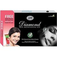 Joy Diamond Brightening Facial Kit 105 G(Set Of 1)