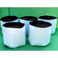 LARGEST  BEST POLY GROW BAGS, (49 X 28 X 28 CM) UV Treated 100 Virgin Material