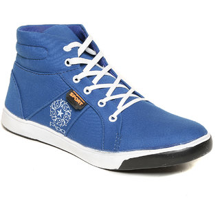 Pipo Blue Canvas Sneaker Casual Shoes For Men - 89234798