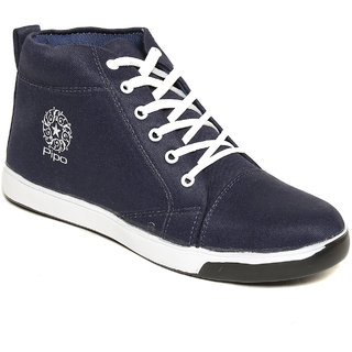Pipo Blue Canvas Sneaker Casual Shoes For Men - 89236656