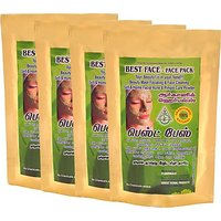 N - Herbals Best Face - Face Pack 100g (Set Of 4)