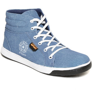 Pipo Blue Canvas Sneaker Casual Shoes For Men - 89278437