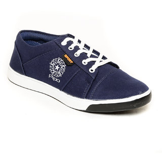 Pipo Blue Canvas Sneaker Casual Shoes For Men - 89285632