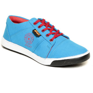Pipo Blue Canvas Sneaker Casual Shoes For Men - 89286343