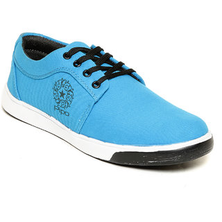Pipo Blue Canvas Sneaker Casual Shoes For Men