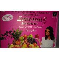 Zenvital Woman Ginseng - Beauty Enhancer, Anti Ageing, Glowing Skin