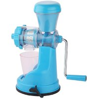 Floraware Sky Colour Fruit And Vegetable Juicer With Steel Handel
