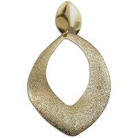 Chamakdamak Gold Leaf Earrings