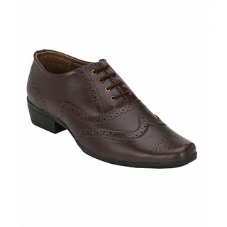 Sole Legacy Mens Brown Brogue Shoes