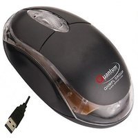 Quantum Qhm222 Usb Mouse Black