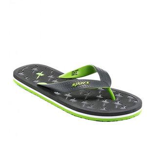 Sparx-2033 Grey Fl.Green Slippers