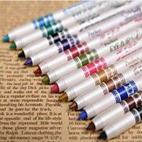 Set Of 12 Colour Eyeliner Pencils