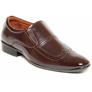 Verdioz Men Brown Formal Shoes (616-Brown)