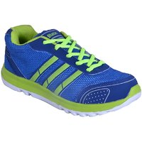 Smithsoul Blue/Parrot Green Sports Shoes