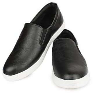 Do Bhai Men Black Casual Shoes (ST-022-Black)