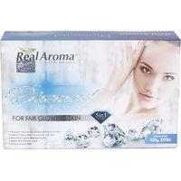 REAL AROMA DIAMOND FAIR GLOWING FACIAL KIT 5 IN 1