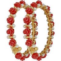 Nisa Pearls Bangle (Design 5)
