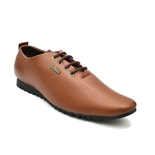 Zoot24 Men Tan Casual Shoes (A10ZULOS8-DRYMILLED)