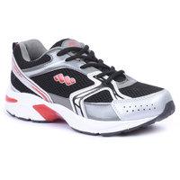 Spunk Men Black  Red Sport Shoes - 89818287