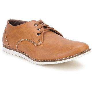 Spunk Men Beige Casual Shoes