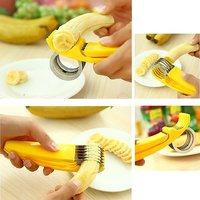 Banana Slicer Cutter For Kitchen Household Tools Novelty Creative Kitchen Tools