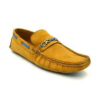 Zoot24 Men Tan Loafers And Moccasins (8503MAGOR8)