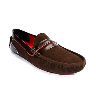 Zoot24 Men Brown Loafers And Moccasins (D102DAMOCH3)