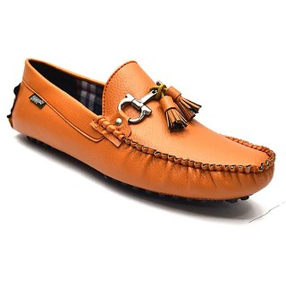 Zoot24 Men Tan Loafers And Moccasins (D50FOMES8)