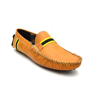 Zoot24 Men Tan Loafers And Moccasins (D53FORBE8-YELLOWPATTI)