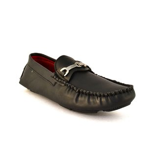 Zoot24 Men Black Loafers And Moccasins (JV202-WALKER1)