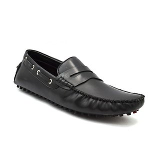 Zoot24 Men Black Loafers And Moccasins (T22CORPUS-BLACK)