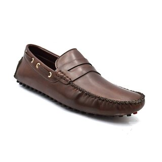 Zoot24 Men Brown Loafers And Moccasins (T22CORPUS-BROWN)