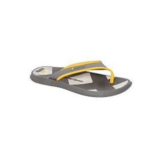 Rider-Men-Grey - Yellow-Flip Flops (10819-20722-GREY - YELLOW)