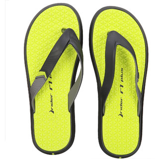 Rider--Black/Grey/Green-Flip Flops (10930-23899-BLACK-GREY-GREEN)