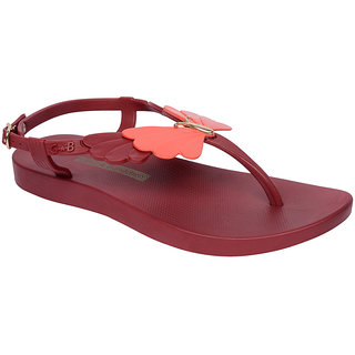 Ipanema-Women-Red - Red-Flip Flop (16344-21720-US10-RED-RED)