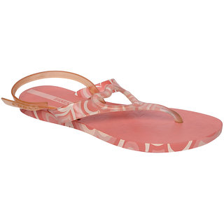 Ipanema-Women-Red - Clear-Flip Flop (25294-22321-US10-RED-CLEAR)