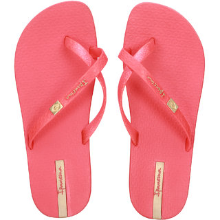 Ipanema-Women-Red-Gold-Flip Flop (25535-21240-US10-RED-GOLD)