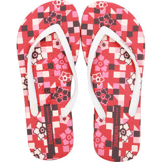 Ipanema-Women-Red-White-Flip Flop (25563-22156-US10-RED-WHITE)